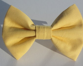 Straw Yellow Bow Tie- All Sizes