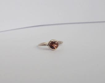 ooak oregon sunstone ring