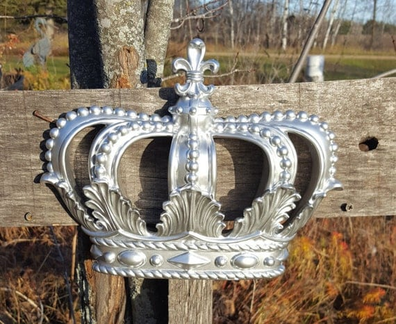 Like this item? & Silver Crown Wall Decor Nursery Wall Decor Crib Crown Canopy