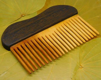 Wooden hair comb  Gift for women Wife daughter mother girl Hair accessories