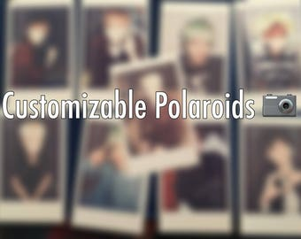 """Customizable Polaroids 