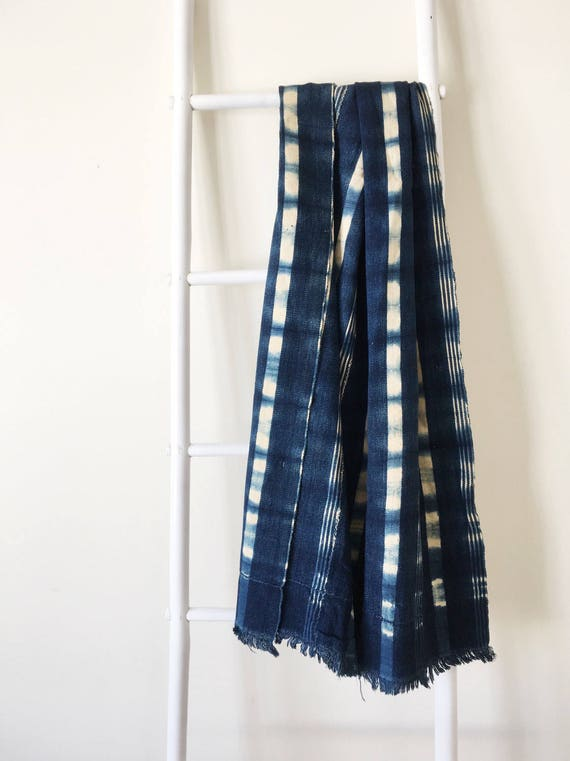 Plaid Wide Stripe Pattern Throw