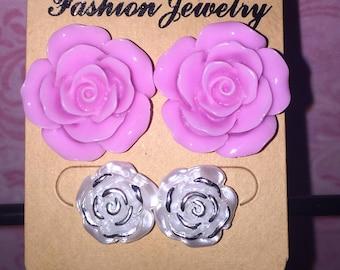2 Pair Earring Set