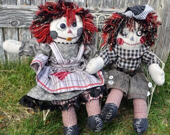 Zombie Raggedy Ann & Andy