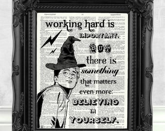 Harry Potter Print Harry Potter Quote HARRY POTTER GIFT Harry Potter Best Friend Gift  Harry Potter Wall Art Harry Potter Decoration  144