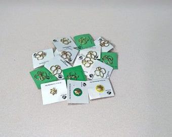 1960s Circa Vintage Girl Scout Brownie Pins
