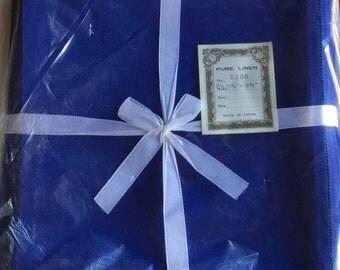 Vintage Linen Napkins, New Old Stock, Set of 12 made in Japan