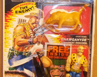 "Hasbro Gi Joe Gnawgahyde  ""Dreadnok Poacher"" Figure 1989"
