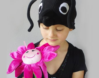 Kids costume, kids ant costume hat, bug costume hat, kids dress up hat, toddler pretend play, toddler costume, kids Halloween costume