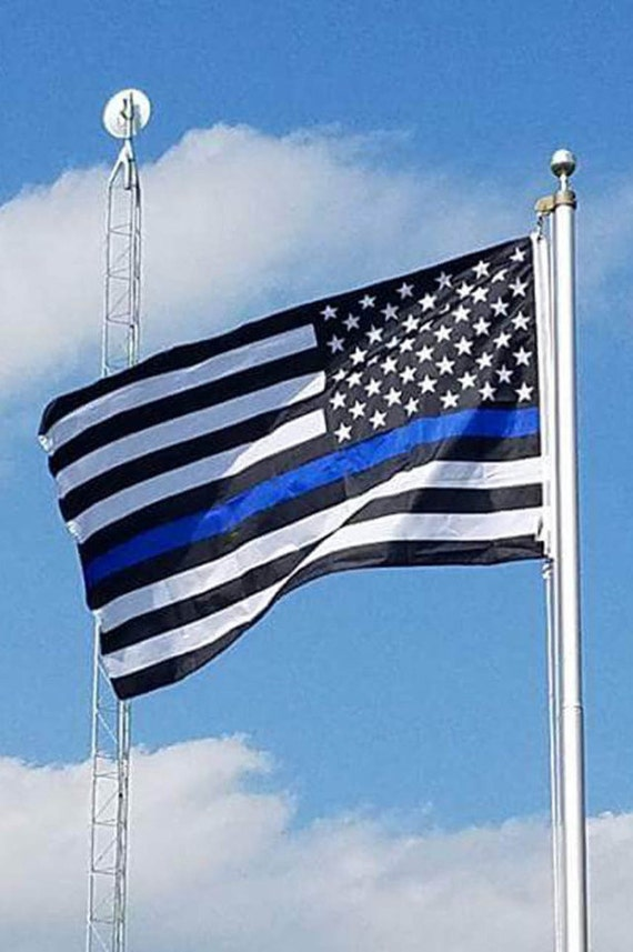 law enforcement american flag - photo #7