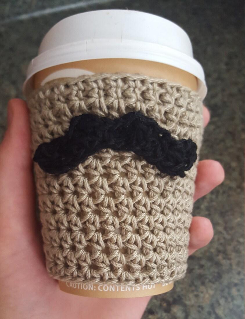 Crochet pattern coffee cozy crochet pattern mustache coffee cozy crochet pattern coffee cozy crochet pattern mustache coffee cozy crochet pattern bankloansurffo Images