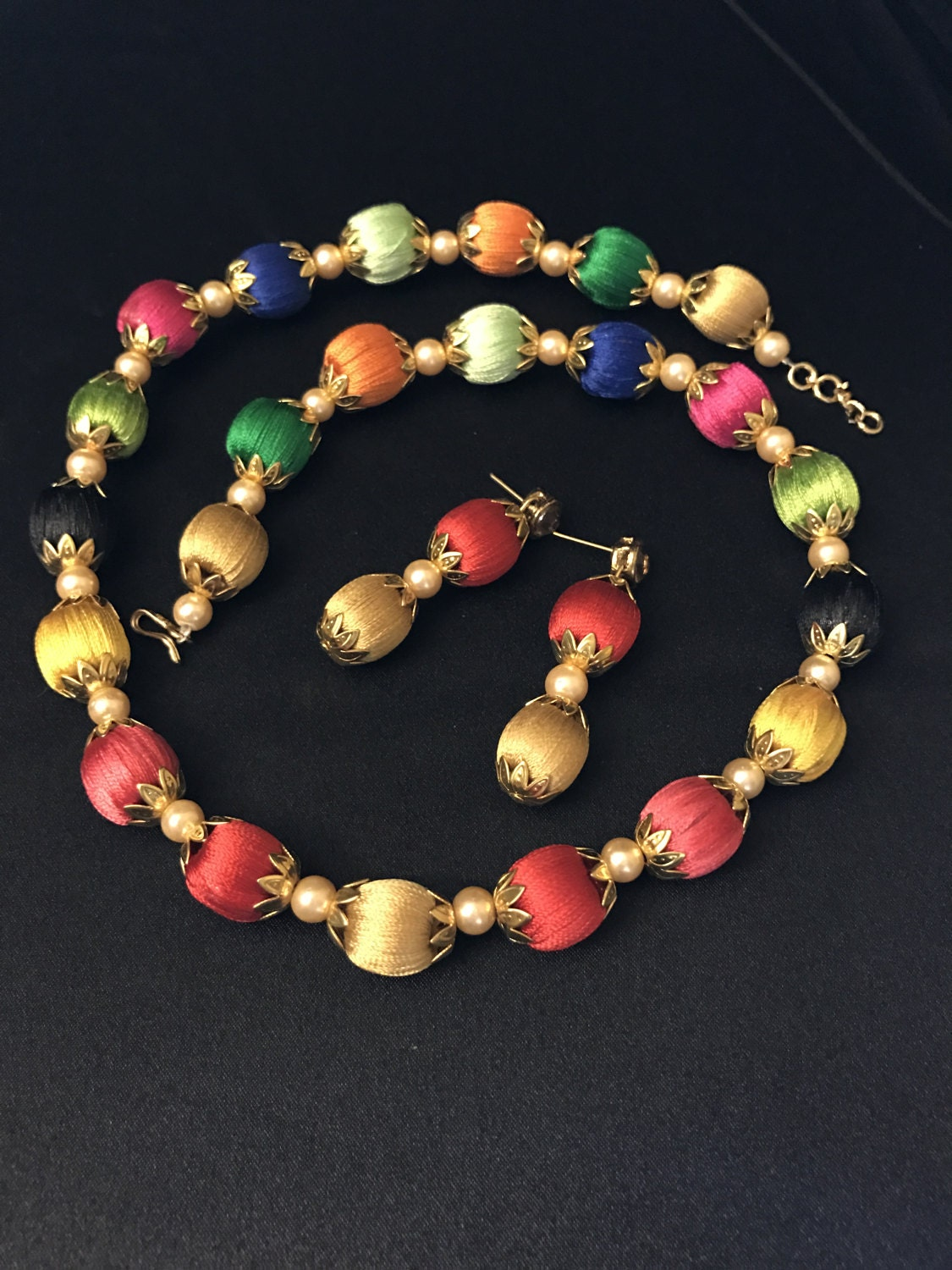 Silk Thread Jewelry Multi Color Indian Jewelry Indian. Heart Ankle Bracelet. Emerald Earrings. New Gold Chains. 10 Carat Rings. Neck Pendant. Simulated Diamond. Surgical Steel Stud Earrings. Layered Rings