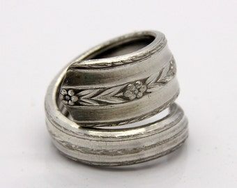 Spoon Ring - Size 7 - Hand Bent By The CrafsMan - Steady Craftin'