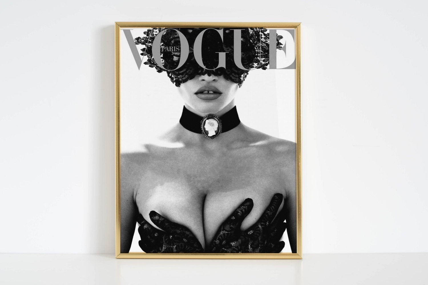 vogue print fashion wall art vogue poster fashion decor vogue cover vogue magazine vogue paris original - Vogue Decor Magazine