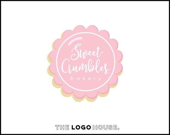 items similar to bakery premade logo cookie logo design