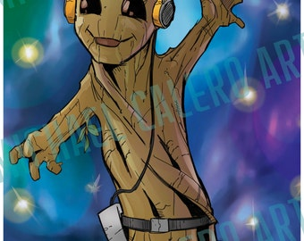 Dancing Baby Groot ( Guardians of the Galaxy )
