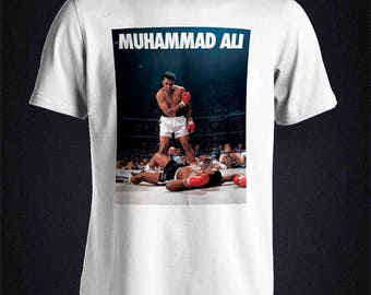 Muhammad Ali Iconic KO picture boxing T-Shirt