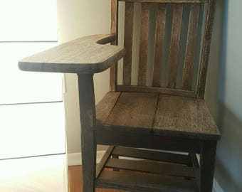 1940s Antique School Desk SHIPPING INCLUDED