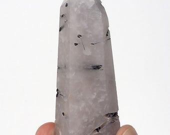 Black Tourmalinated Quartz