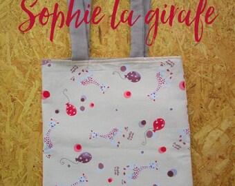 Tote bag Sophie the giraffe