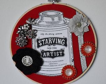 Starving Artist hoop nest