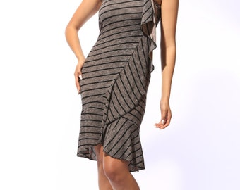 Evelyn's Casual Wrap Dress