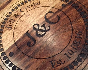 Personalized Cutting and Cheese Boards