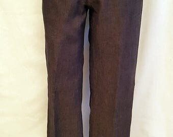 Men's City Lounge Reserved summer trousers. 100% linen.