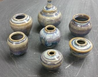 Tiny Ceramic Rutile Vase