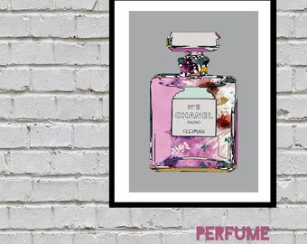 Chanel No5 Illustration