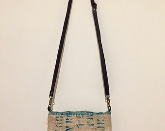 Reversible coffee sack bag