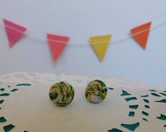 Marble Tye Dye Stud Earrings (All Profits Go To Charity)