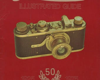 Leica Illustrated Guide III M and Leicaflex Lenses, Accesssories & Special Models 1979 Book by James L Lager