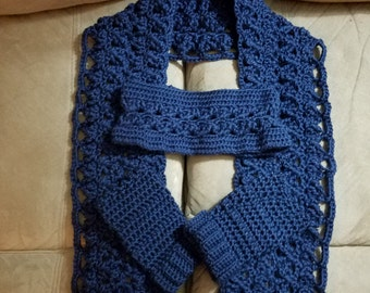 Scarves, Ear Warmers and Fingerless Mitts