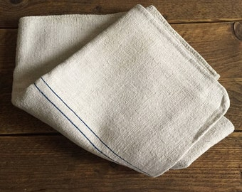 Vintage Grainsack ~ Blue Stripe