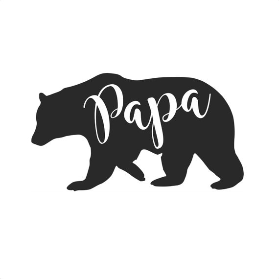 Papa Bear Decal Yeti Decal Ozark Decal Car Decal Laptop