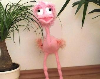 Ostrich/ Knitted Ostrich / handmade Ostrich/ amigurumi /amigurumi Ostrich