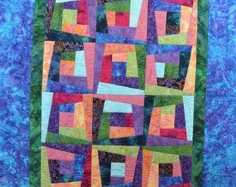 Batik Crazy Quilt