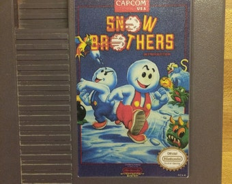 Snow Bros/Brothers Nes reproduction