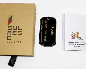 Reach Half Billion People - Sylresc smart tag empowers your pet to get help from half a billion people when needed