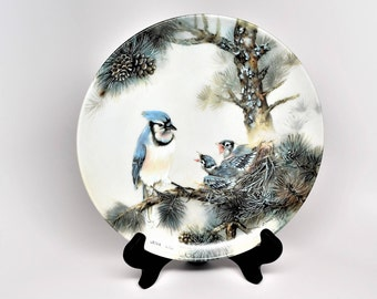 Lena Liu Collector Plates ~ Lena Liu ~ Lena Liu MORNING CHORUS ~ Lena Liu Nature's Poetry Series ~ Lena Liu Plates ~ Bird Collector Plates