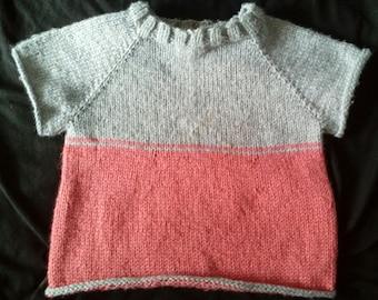 Custom Knit Made to Order Raglan Sweater