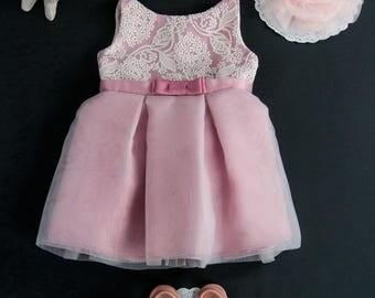 Toddler Easter Dress Pink, Toddler Easter Dress, Toddler Easter Outfit Pink, Toddler Spring Dress, Girls Easter Dress, Pink Dress Toddler