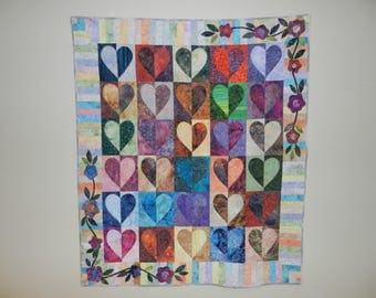 Hearts Galore Quilt