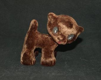 Cute soft foamy vintage cat from Soviet era - made in USSR (Estonia) - Soviet toy - Russian toy cat - soft plushy rubber toy
