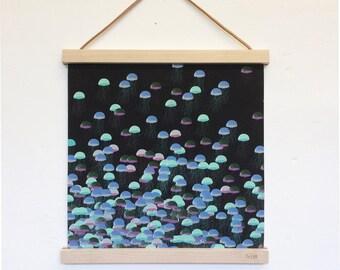 The Uprising, jellyfish art print