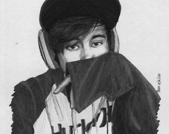 LeafyisHere Realism Drawing