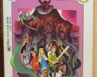 The Black Cauldron: First Printing of New Dell Edition 1985