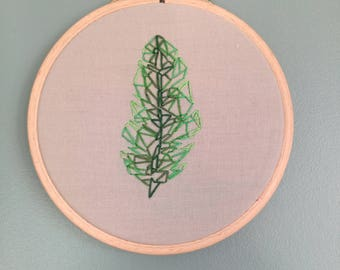 Small Hoop Art - Embroidery