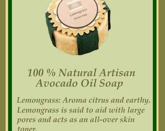 Artisan Avocado Oil Soap